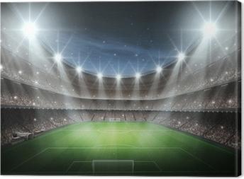 Quadro su Tela Luce di Stadio