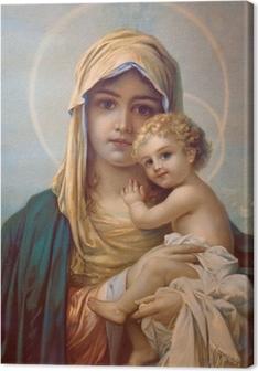Quadro su Tela Madonna - Madre di Dio