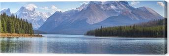 Quadro su Tela Maligne Lake