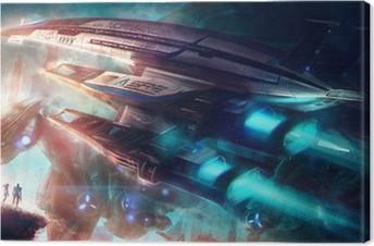 Quadro su Tela Mass Effect