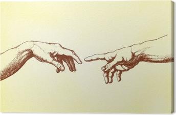Quadri su tela impronte di mani u2022 pixers® viviamo per il cambiamento