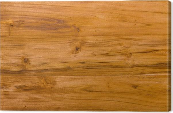 Quadro su Tela Modello di legno di teak superficie decorativa ...