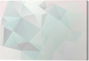 Quadro su Tela Morbido pastello sfondo geometrico astratto con sfumature vettore