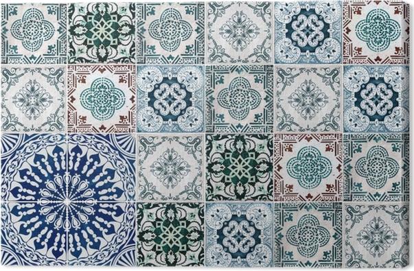 Quadro su tela mosaico adesivi sulle piastrelle u2022 pixers