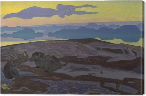 Quadro su Tela Nikolaj Konstantinovič Roerich - Il verdetto - Nicholas Roerich