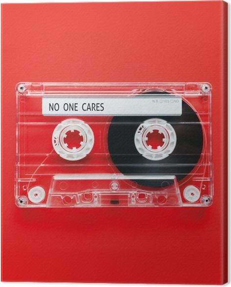 Quadro su Tela No one cares -