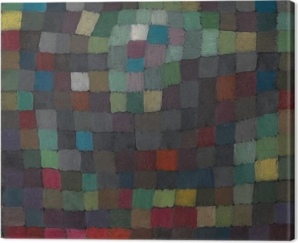 Quadro su Tela Paul Klee - Polifonia - Riproduzioni