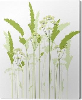 Quadro su Tela Prato di erba