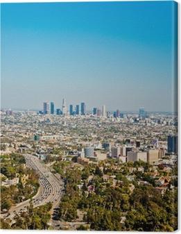 Quadri su tela premium Los Angeles grattacieli