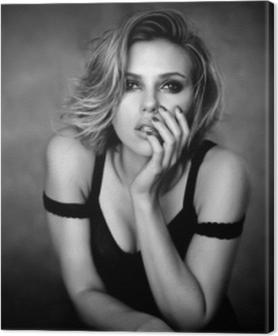 Quadri su tela premium Scarlett Johansson