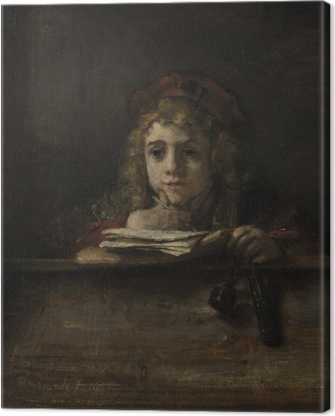 Quadro su Tela Rembrandt - Titus - Riproduzioni