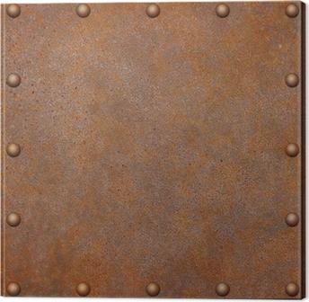 Quadro su Tela Rusty Metal Background