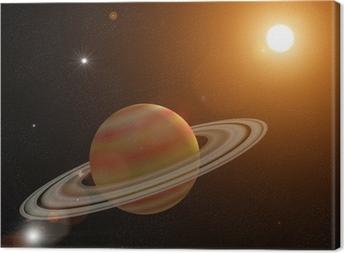 Quadro su Tela Saturno