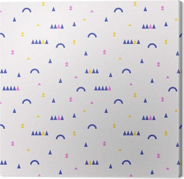 Quadro su Tela Seamless pattern geometrici -