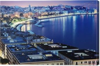 Quadro su Tela Splendida vista panoramica Napoli