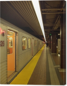 Quadro su Tela Stazione della metropolitana