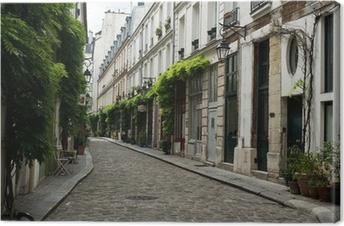 Quadro su Tela Strada parigina