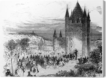 Quadro su Tela Templari - Templari