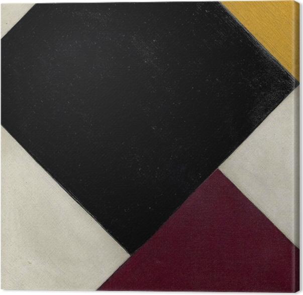 Quadro su Tela Theo van Doesburg - Contro-composizione XI - Reproductions