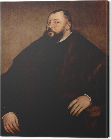Quadro su Tela Tiziano - Elettore Friedrich von Sachsen - Riproduzioni