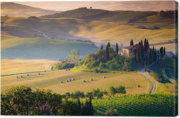 Quadro su Tela Toscana, paesaggio. • Pixers® - Viviamo per il ...