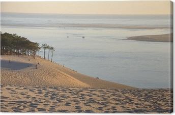 Quadro su Tela Tramonto sulla duna Pyla 12