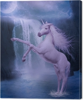 Quadro su Tela Ultimo unicorno