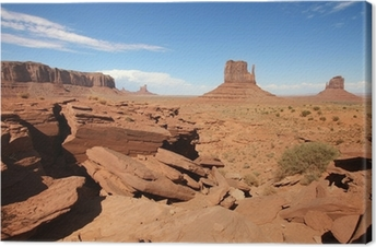 Quadro su Tela USA - Monument valley