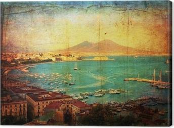 Quadro su Tela Veduta del Golfo di Napoli