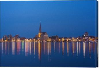 Quadro su Tela Vedute di Rostock.