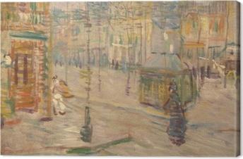 Quadro su Tela Vincent van Gogh - Boulevard de Clichy
