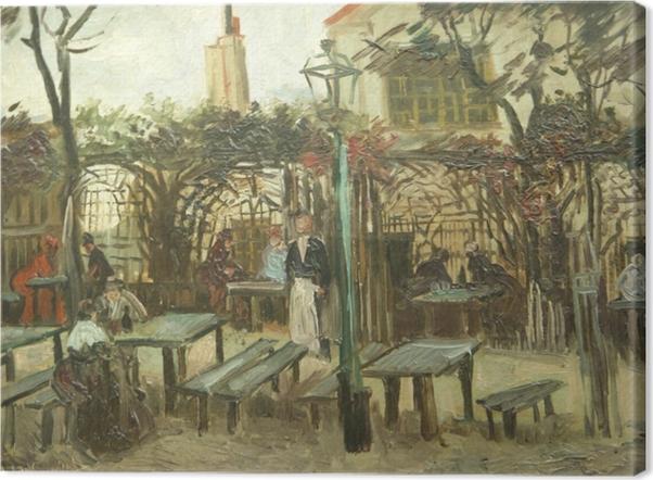 Quadro su Tela Vincent van Gogh - La Guinguette - Reproductions