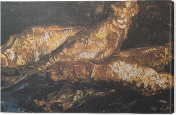 Quadro su Tela Vincent van Gogh - Natura morta con bloaters - Reproductions