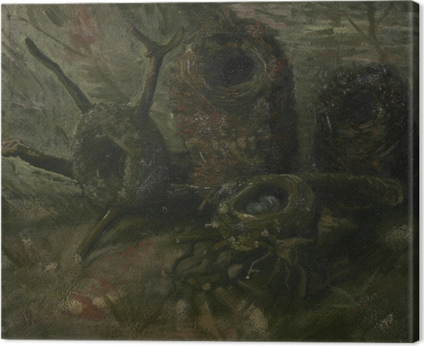 Quadro su Tela Vincent van Gogh - Nidi di uccelli - Reproductions