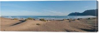 Quadro su Tela Vista Panoramica della spiaggia di Famara, Lanzarote