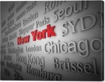 Quadro su Tela Weltstadt2 New York