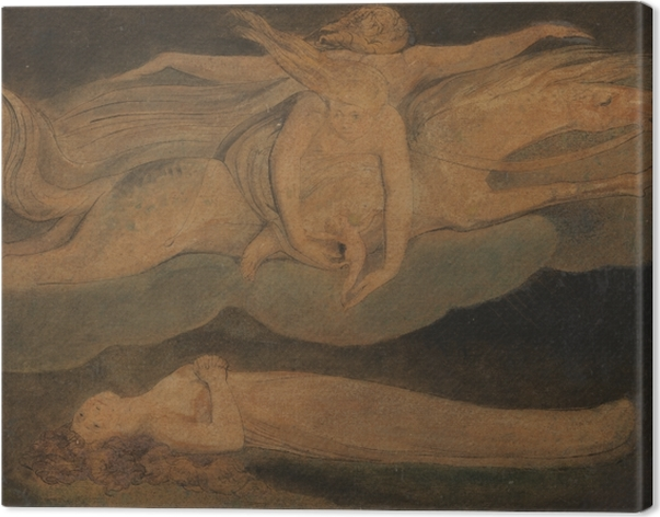 Quadro su Tela William Blake - Pietà - Riproduzioni