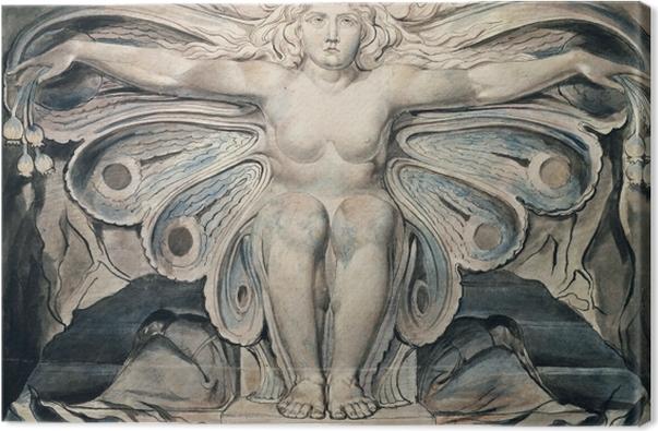 Quadro su Tela William Blake - The Grave Personified - Riproduzioni