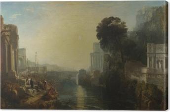 Quadro su Tela William Turner - Il declino dell'impero cartaginese