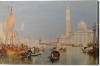 Quadro su Tela William Turner - La Dogana e San Giorgio Maggiore