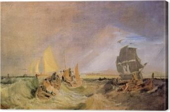 Quadro su Tela William Turner - Spedizione alla Bocca della Thames
