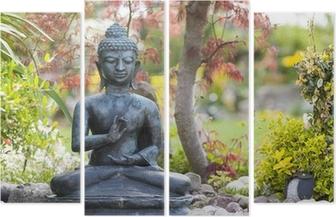Buddha Figur Im Garten Wall Mural Pixers We Live To Change