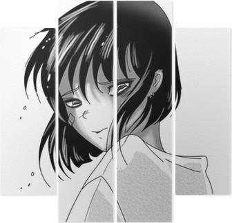 Triste Manga Fille