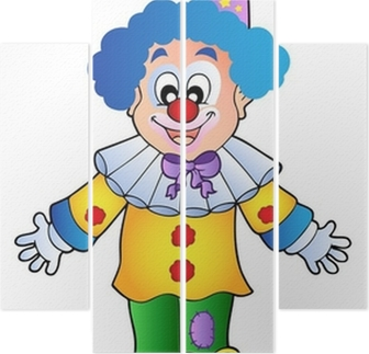 consegna gratuita vendita ufficiale orologio Immagine di clown cartoon 1
