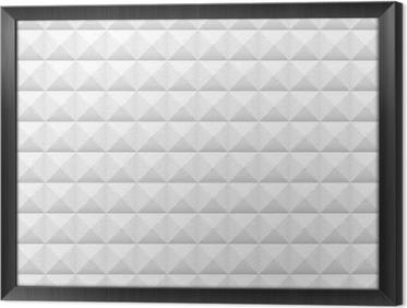 Quadro com Moldura Azulejos brancos, praças, ilustração do vetor, teste padrão sem emenda