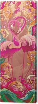 Quadro em Tela A series of panels birds: Paradise