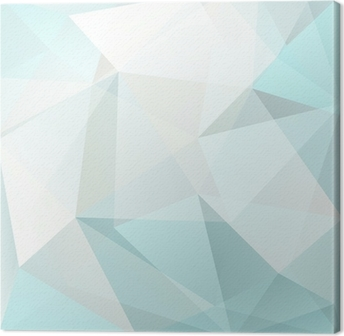 Quadro em Tela abstract triangle background, vector