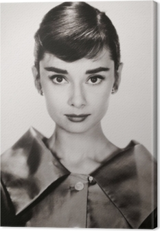 Quadro em Tela Audrey Hepburn