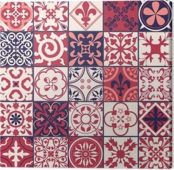 Quadro em Tela Azulejos marroquinos Pattern