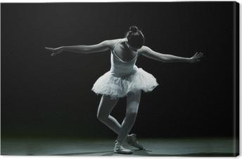 Quadro em Tela Ballet dancer-action